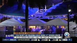 News video: Judge makes decision about music at Harborside