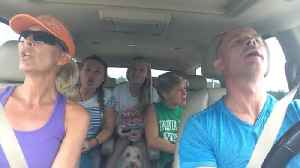 News video: A Family Lip Syncs To Les Miserables In A Car