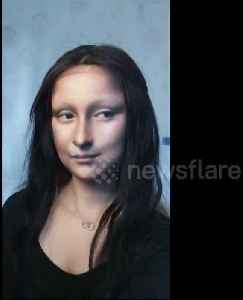 News video: Makeup artist turns herself into 'Mona Lisa' but is she smiling?