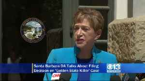 News video: Raw: Santa Barbara DA Announces 4 New Criminal Charges Against Suspected Golden State Killer