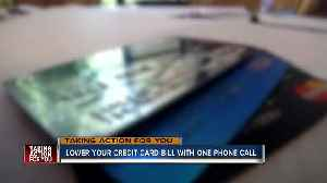 News video: How to lower your credit card rate with a single call