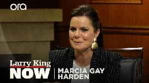 News video: Does Marcia Gay Harden think the 'Fifty Shades' trilogy is feminist?
