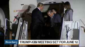 News video: What to Expect From Trump-Kim Meeting Set for June 12