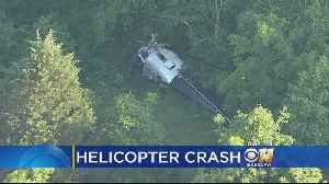 News video: Pilot Injured In Helicopter Crash In Navarro County