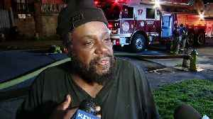 News video: UNCUT INTERVIEW: Man Talks About Fast Food Mishap That Brought Firefighters To Wilkinsburg Home