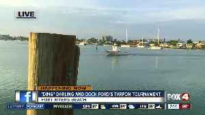 News video: 7th Annual 'Ding' Darling and Dock Ford's Tarpon Tournament underway - 7am live report