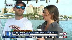 News video: 7th Annual 'Ding' Darling and Dock Ford's Tarpon Tournament underway - 7:30 am live report