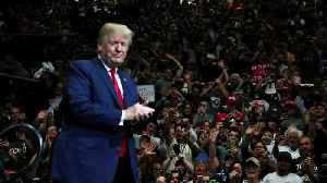 News video: President Trump Debuts His New Campaign Slogan for 2020 in Indiana