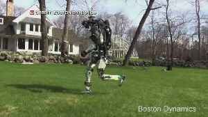 News video: Robot Learns To Run