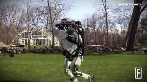 News video: Boston Dynamics Shows Off Its Humanoid Robot That Can Run and Jump