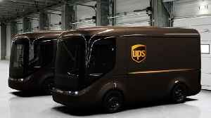 News video: UPS Unveils Its New Electric Trucks And They Look Adorable