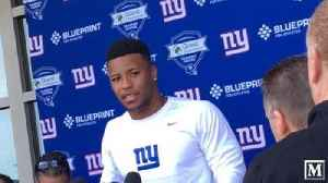 News video: Saquon Barkley wants to be a 'veteran pro'