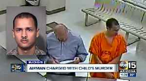 News video: Buckeye Airman charged in 3-month-old child's murder
