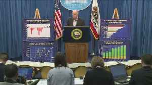 News video: Gov. Brown Pitches Robust Budget As Revenues Surge
