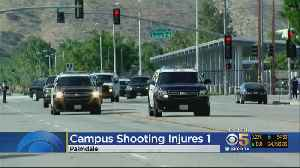 News video: One Injured In Shooting At Southern California High School