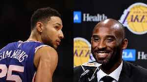 News video: Ben Simmons SHUTS DOWN Advice from Kobe Bryant!