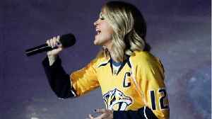 News video: Carrie Underwood Pokes Fun At Hubby After Preds Loss