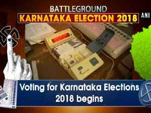 News video: Voting for Karnataka Elections 2018 begins