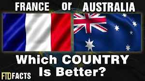 News video: FRANCE or AUSTRALIA - Which Country Is Better? | World Cup 2018