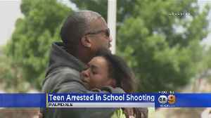 News video: Student Shot In Arm At High School In Palmdale; 14-Year-Old Arrested
