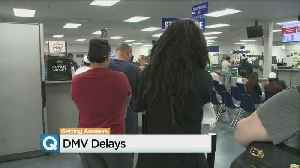 News video: System Outage, Real ID Explanations Create Long Waits At DMV