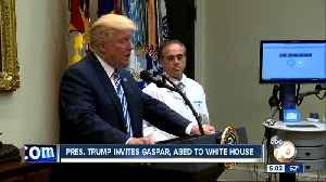 News video: Pres. Trump invites Gaspar, Abed to White House
