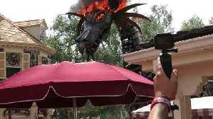 News video: Fantasy Parade Dragon Catches Fire at Theme Park