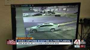 News video: Drive-by shooting outside KCK church caught on camera