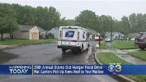 News video: 26th Annual Stamp Out Hunger Food Drive Hopes To Help Those In Need
