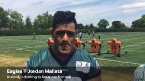 News video: Eagles T Jordan Mailata talks about adjusting to American football
