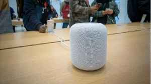 News video: Amazon's And Apple's Smart Speakers