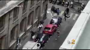 News video: 1 Dead, 4 Hurt In Paris Knife Attack, Suspect Killed