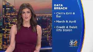 News video: Chili's Restaurants Warns About Stolen Credit Card Info