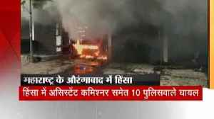 News video: 2 people killed and more than 30 injured in violence between two communities in Maharashtra