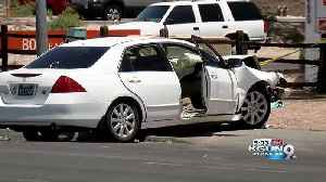 News video: Five in hospital after crash on 1st Ave. near Wetmore