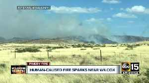 News video: Officials say Pinery Fire near Willcox is human-caused