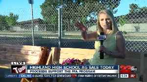 News video: Highland High School students hold plant sale to support FFA program