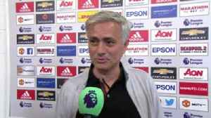 News video: Mourinho: Focus on FA Cup