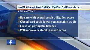 News video: CALL 4 ACTION: How bankrupt store's credit card affects you