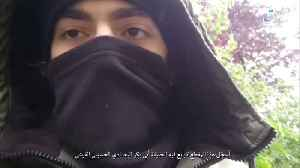 News video: SITE monitoring group releases video of alleged Paris knife attacker pledging allegiance to Baghdadi