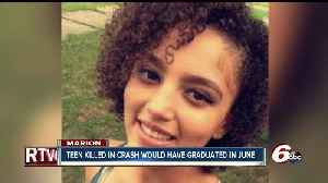 News video: Marion High School senior killed in crash with police officer