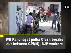 News video: WB Panchayat polls: Clash breaks out between CPI (M), BJP workers