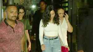 News video: Spotted- Shraddha Kapoor at Yauatcha restaurant for a special dinner date with friends.