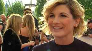 News video: Doctor Who's Jodie Whittaker on her 'wonderful' new role and Time's Up