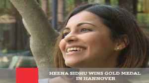 News video: Heena Sidhu Wins Gold Medal In Hannover
