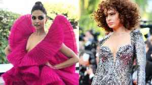 News video: Cannes 2018 Kangana Ranaut VS Deepika Padukone Look DAY 2 FASHION FACE OFF