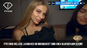 News video: Official FTV Coin Deluxe Party Adds Touch of Glamor to NEXT BLOCK Conference ft.Ilan Tzorya
