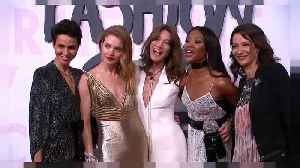 News video: Supermodels walk the walk for  'Fashion Relief'