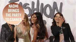 News video: Naomi Campbell's fashion event bring the star power