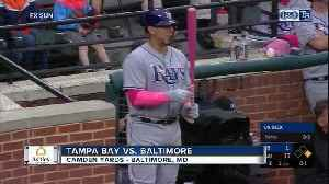 News video: Joey Rickard homers twice, Baltimore Orioles rout Tampa Bay Rays 17-1